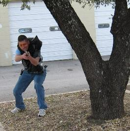 A Student at THA is learning his courses to work as a bodyguard in texas.